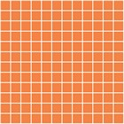 20065 Темари оранжевый матовый