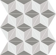 Monochrome Mosaic Gris