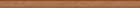 Brown listwa szklana