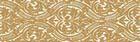 Gold listwa Arabeska