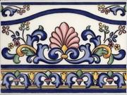 Cenefa galan iris