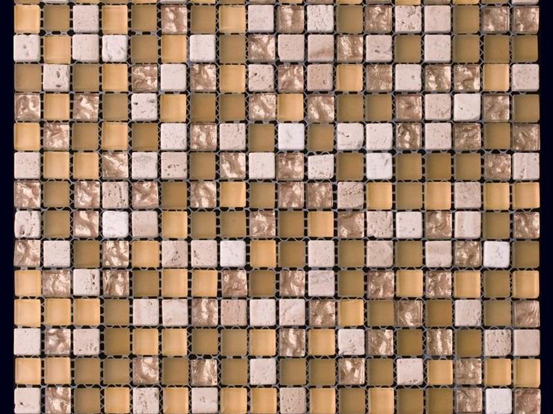 Natural Mosaic (Натурал Мозаик) - Мозаика Mix glass and stone