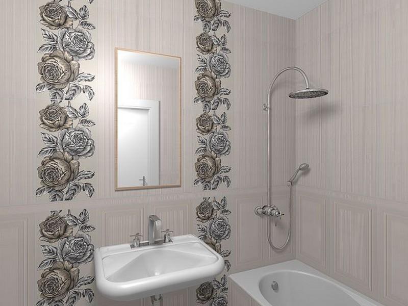 Керама марацци в интерьере маленькой ванной фото