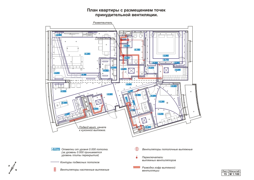 Схема сантехнического