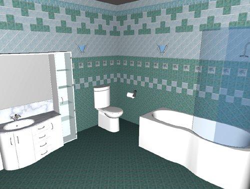 Программа дизайна плитки в ванной комнате